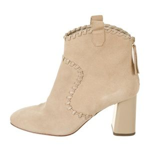 Alice and Olivia suede ankle boots size 38.5
